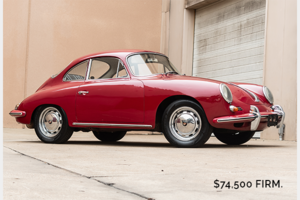 Picture of 1964 Porsche 356 SC Coupe Correct Red coming soon $74.5k For Sale