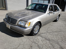 Picture of 1995 Mercedes S500 Sedan 4 Door Smoke Silver 88k miles $5.9k For Sale