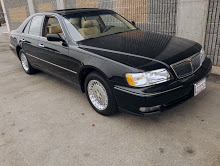 Picture of 1998 Infiniti Q45 Sedan 4 Door Black(~)Tan 57k miles $9.9k For Sale
