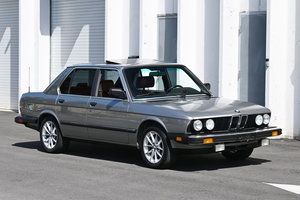 Picture of 1987 BMW 528e Coupe 5 speed + cold AC Silver $11.9k For Sale