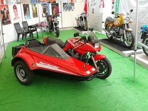Picture of 1986 Egli Katana 1100 Sidecar Red Liberator For Sale