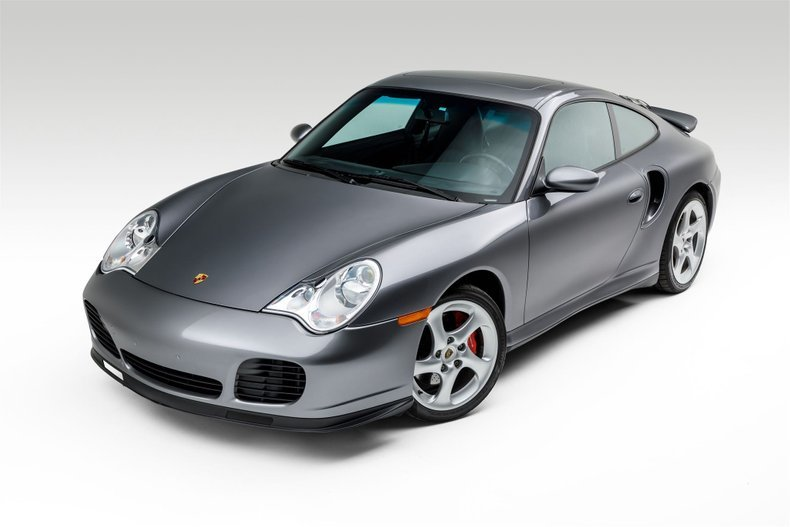 2001 Porsche 911 Turbo Coupe Grey(~)Black 36k miles $64.9k For Sale (picture 1 of 6)