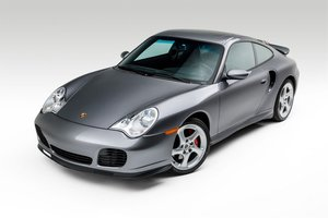 Picture of 2001  Porsche 911 Turbo Coupe Grey(~)Black 36k miles $64.9k