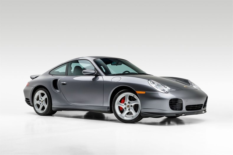 2001 Porsche 911 Turbo Coupe Grey(~)Black 36k miles $64.9k For Sale (picture 2 of 6)