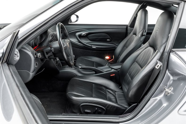 2001 Porsche 911 Turbo Coupe Grey(~)Black 36k miles $64.9k For Sale (picture 3 of 6)