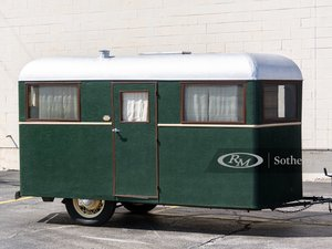 1934 Covered Wagon Camping Trailer