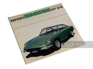 Ferrari 365 GT 2+2 Sales Brochure