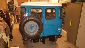 Picture of 1980 Toyota BJ40 - SUV 4WD LHD Gas 6-cyls Blue driver $44.9k For Sale