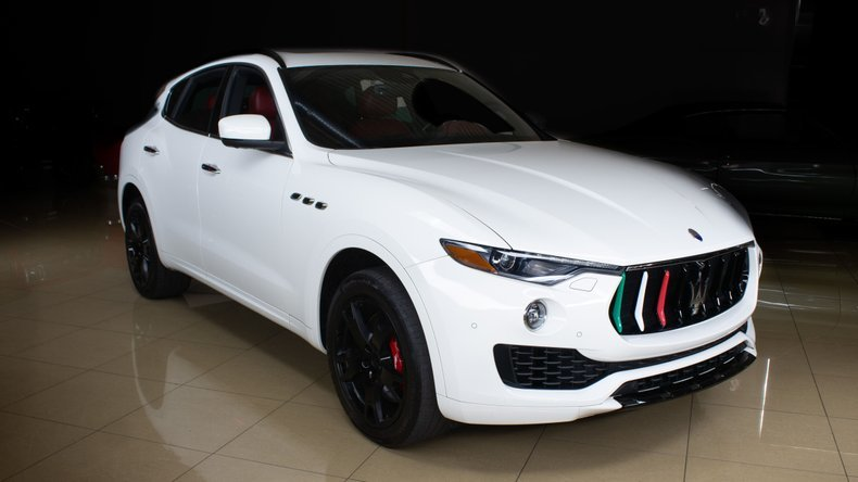 2017 Maserati Levante S Q4 SUV 4WD clean Ivory(~)Red $59.9k For Sale (picture 2 of 6)