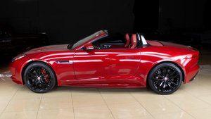 2017 Jaguar F-TYPE S Roadster Convertible Red(~)Red $56.9k
