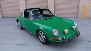 Picture of 1970 Porsche 911 E Targa Go Clean Green 23k miles $228k usd For Sale