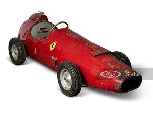 Ferrari 500 F2 Prototype 12 Scale Childrens Car, ca. 1950s