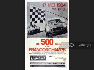 De 500 Kms van Francorchamps Original Event Poster, 1964