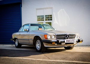 Picture of 1985 Mercedes-Benz 500 SL Roadster SOLD by Auction