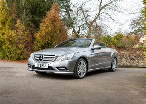 Picture of 2011 Mercedes-Benz E250 AMG Sport Convertible SOLD by Auction