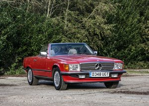 Picture of 1987 Mercedes-Benz 300SL Roadster SOLD by Auction