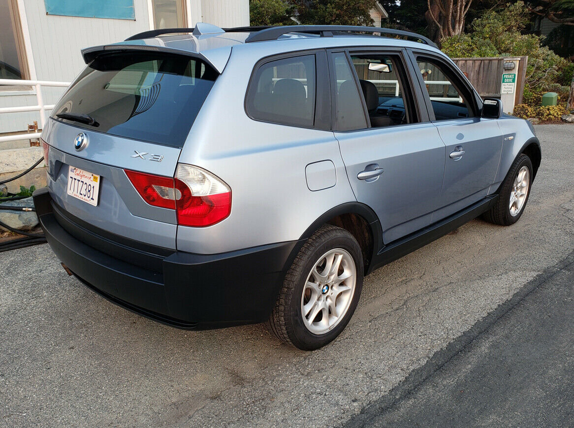 2005 BMW X3 SUV AWD  Rare 6 speed Manual Silver $obo For Sale (picture 2 of 6)