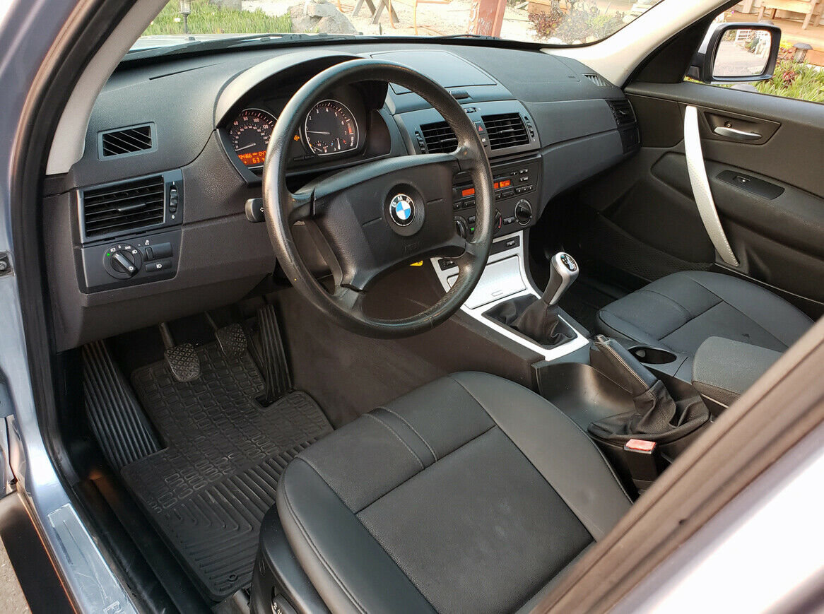 2005 BMW X3 SUV AWD  Rare 6 speed Manual Silver $obo For Sale (picture 4 of 6)