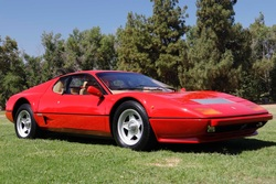 1983 Ferrari 512 BBi Coupe 23k miles Red(~)Tan $218.8k For Sale (picture 1 of 6)