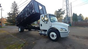 Picture of 2013 Freightliner M2 106 dump truck 20 Foot 26 ton New Box A For Sale