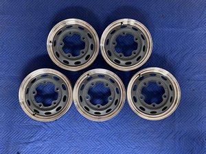 Picture of 1954-1956 Reproduction 550 Spyder Steel Riveted Alloy Rims For Sale
