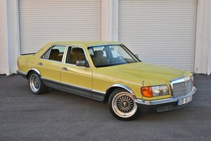 Picture of 1981 Mercedes-Benz S-Class Euro 280 SE Lorinser W126 $19.9k For Sale