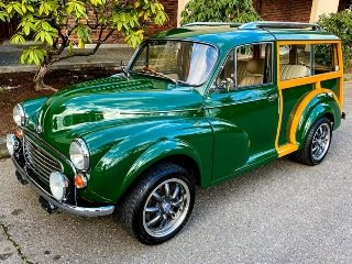 Picture of 1961 Morris Minor Traveler Woody 2002 Mazda Miata 1.8 twin c For Sale