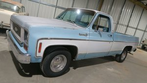 Picture of 1974 Chevy C-10 Pick Up Truck Long Bed fresh 350 AC $14. For Sale