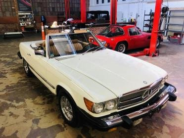 Picture of 1985 Mercedes 380SL 3800 CC V8 Roadster Convertible $14.9k For Sale