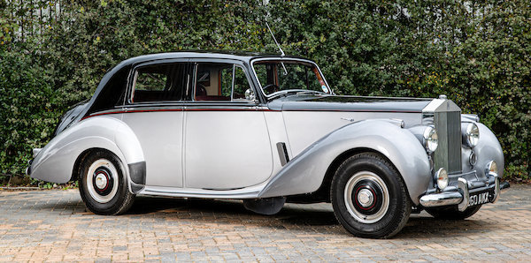 Picture of 1954 Rolls-Royce Silver Dawn 4-Litre Saloon For Sale by Auction
