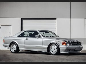 Picture of 1989 Mercedes-Benz 560 SEC AMG 6.0 Wide-Body  For Sale by Auction