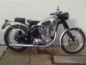 Picture of 1952 BSA B32 GOLD STAR PLUNGER SOLD