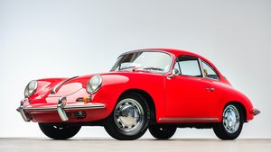 Picture of 1961 Porsche 356B Coupe clean Red(~)Black drtver $74.9k For Sale