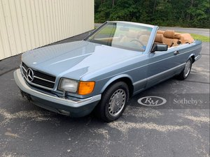 Picture of 1986 Mercedes-Benz 560 SEC Convertible by Straman For Sale by Auction