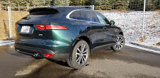 2017 Jaguar F Pace 200 MPH SUV clean Green 12k miles $49k For Sale (picture 6 of 12)