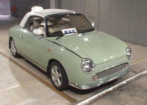 Picture of 1991 Nissan Figaro Convertible  RHD  Project Drives  $8.5k For Sale