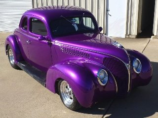 Picture of 1938 Ford Custom Coupe Hot(~)Rod 350 auto  Purple $50k For Sale