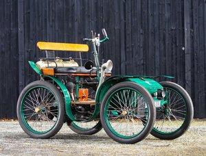 Picture of 1900 MIGNONETTE LUAP 2¼HP VOITURETTE For Sale