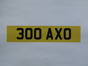 Picture of 1900 Registration Number 300 AXO at ACA 13th and 14th February For Sale by Auction