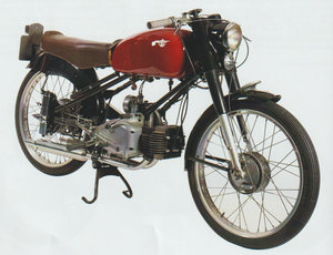 Moto rumi 125 super sport tt