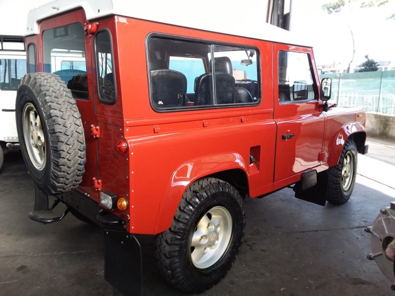 1990 Land Rover Defender defender SUV AWD 4x4 LHD For Sale (picture 3 of 12)
