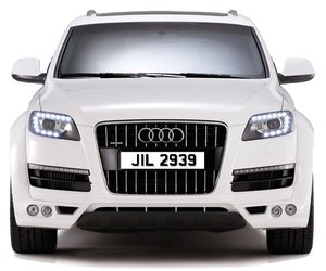 JIL 2939 PERSONALISED PRIVATE CHERISHED DVLA NUMBER PLATE FO