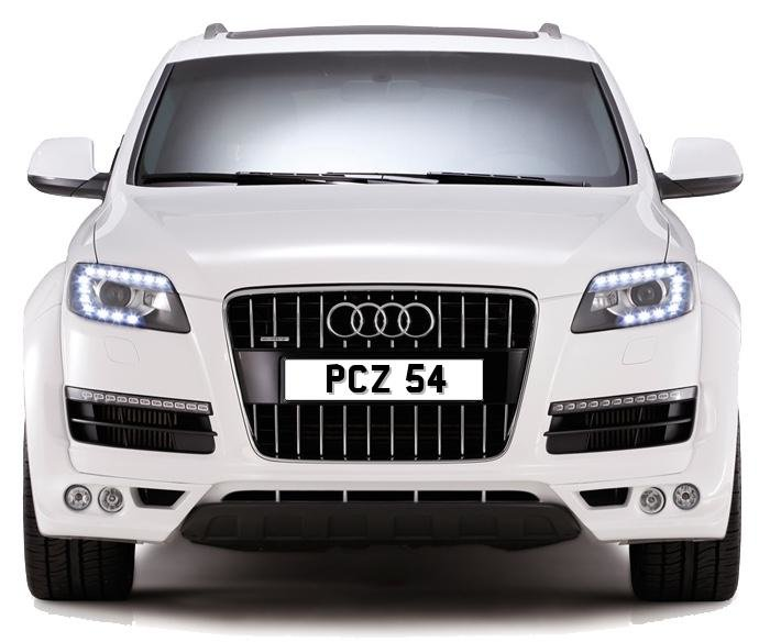 2020 PCZ 54 PERSONALISED PRIVATE CHERISHED DVLA NUMBER PLATE FOR  For Sale (picture 1 of 5)