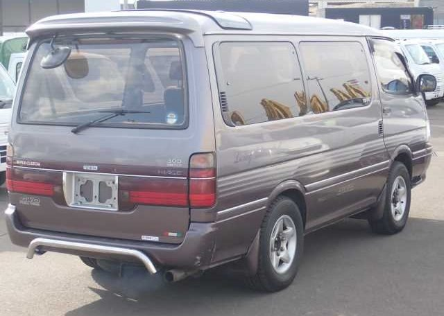 1995 Toyota HiAce Super Custom 4WD Van 58k miles RHD $11k For Sale (picture 2 of 3)