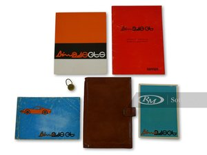Ferrari Dino 246 GT Owners Manuals, Folio, and Key Fob