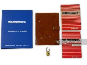 Ferrari 365 GTB4 Owners Manuals, Folio, and Key Fob