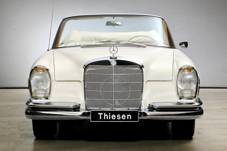 1967 300 SE 6,3 Ltr. Cabriolet For Sale (picture 3 of 12)