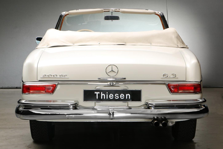 1967 300 SE 6,3 Ltr. Cabriolet For Sale (picture 5 of 12)