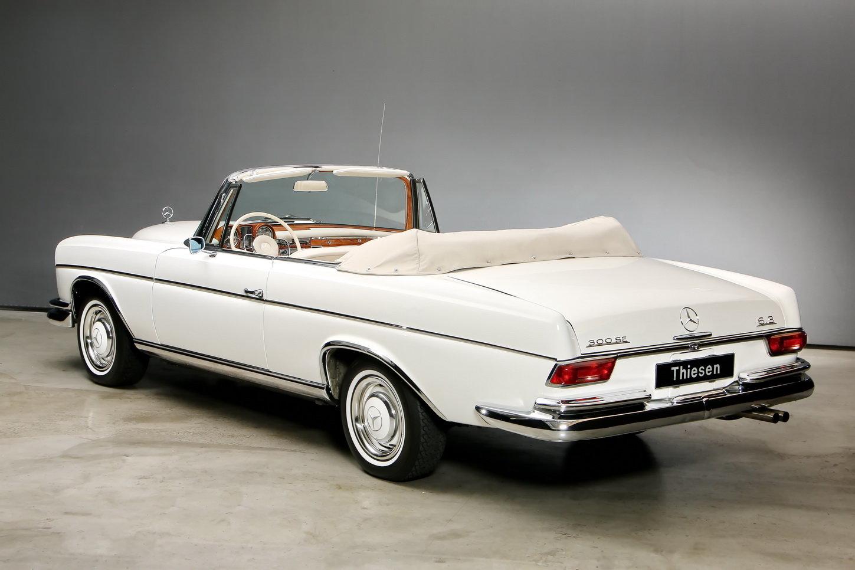 1967 300 SE 6,3 Ltr. Cabriolet For Sale (picture 7 of 12)
