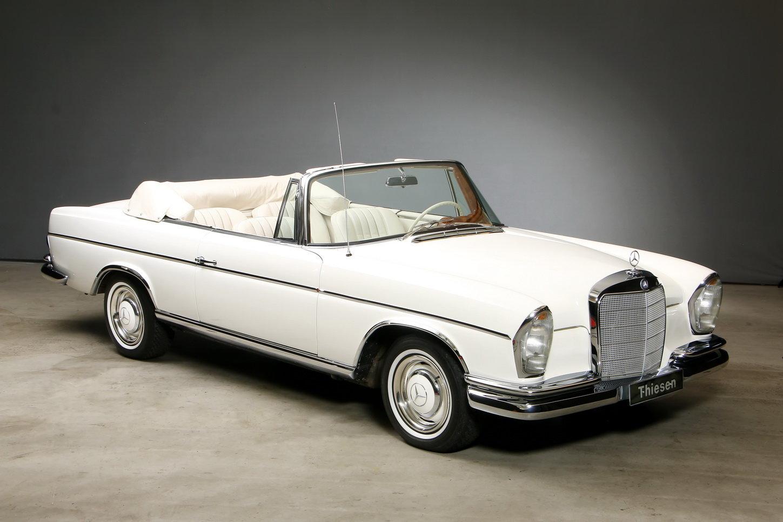 1967 300 SE 6,3 Ltr. Cabriolet For Sale (picture 10 of 12)